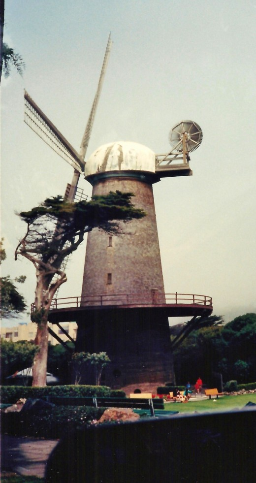 One of 2 windmills in Golden Gate Park