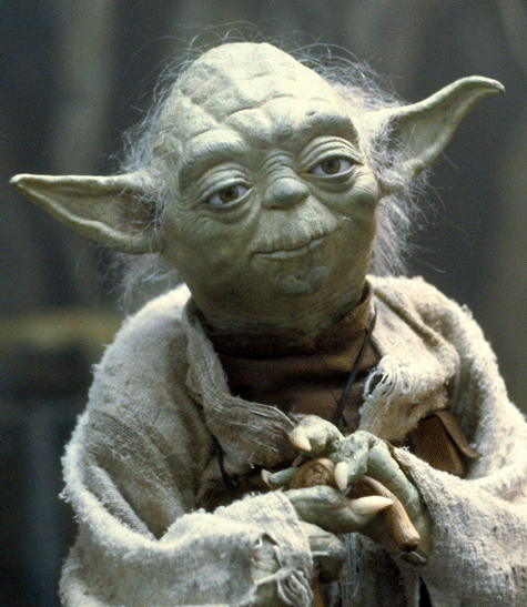 Your GPS is as wise as Yoda.