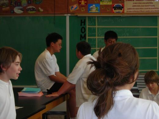 My Oregon classroom