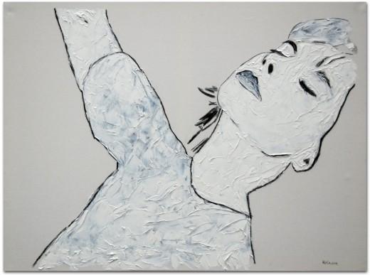 Dirk Kolassa Björk, gemalt von Dirk Kolassa 2011