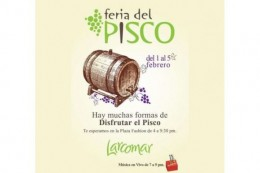Pisco Fair There are many ways to enjoy pisco!
