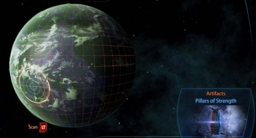 Mass Effect 3 Citadel Missions - Going Planets to Scan for Artifacts and Biotic Tech