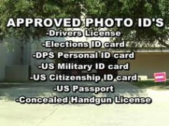 Voter ID Laws And You