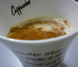 A nice hot foamy cappuccino can be god sent and just what you needed to kick start your early mornings.