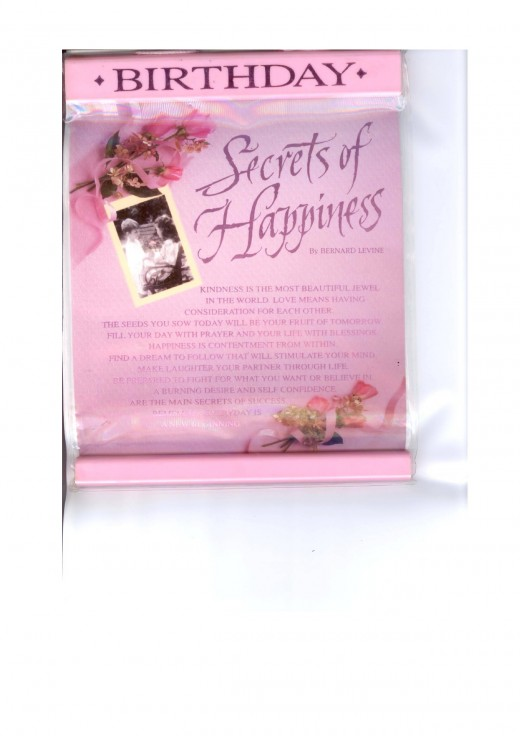 SECRETS OF HAPPINESS By BERNARD LEVINE