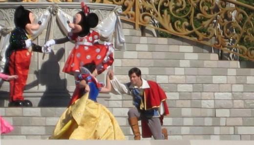 Dreams come true at both Disneyland and Disney World.