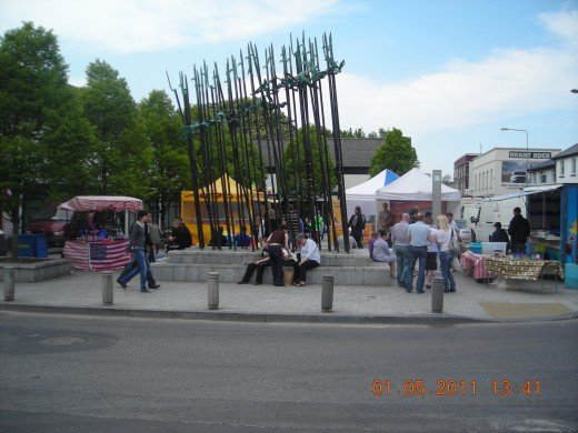 French market in Mayo