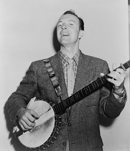 Pete Seeger in 1965