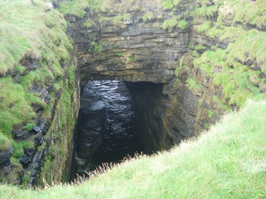 Blowhole Ballycastle Co Mayo