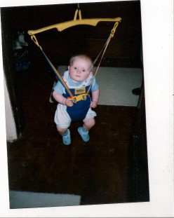 Baby bouncer, also second hand