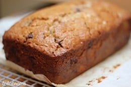Banana Bread with Chocolate Chips Added