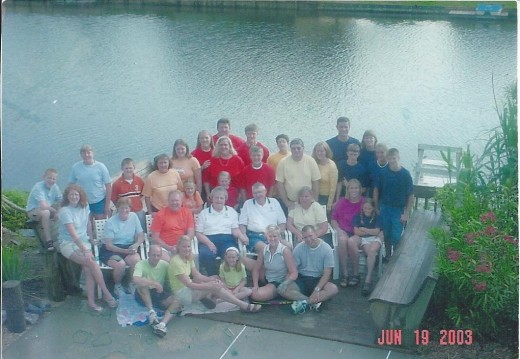 Vacation 2003; There are 8 more grandkids now!