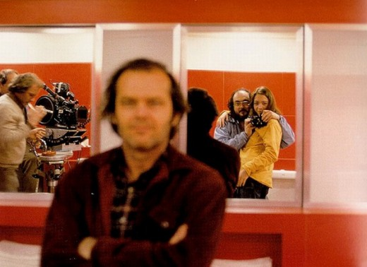 Stanley Kubrick with daughter Vivian
