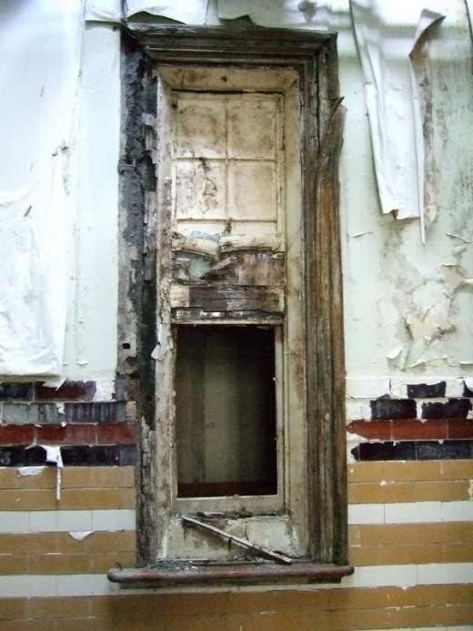 Ugly Rotten Door