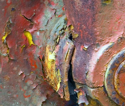 Peeling Layers of Paint