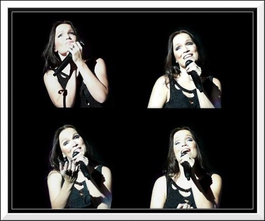 Tarja Turunen singing live