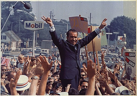 Just months before the Watergate scandal broke, Richard Nixon passes America's most comprehensive campaign finance law (FECA) and creates a new agency to enforce it.