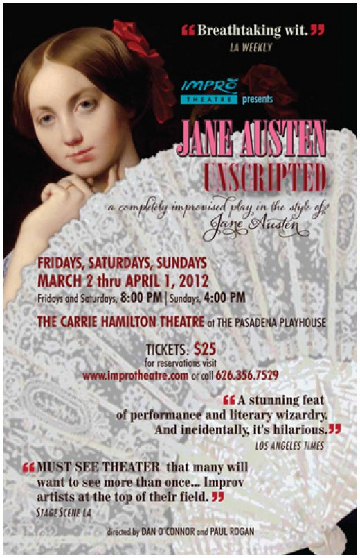 In the Carrie Hamilton Theater at the Pasadena Playhouse until April 1, 2012