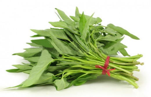 Water spinach (ong choy/kangkung)
