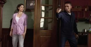 An assassin comes to kill Rebecca Winstone