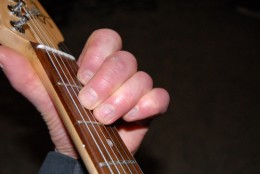 A minor chord. Comes in handy.