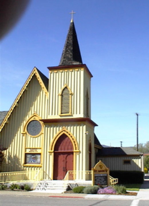 St. Mark's Church in Yreka, CA
