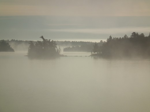 Morning Mist from Totem Lodge