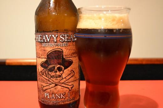 Heavy Seas in the glass