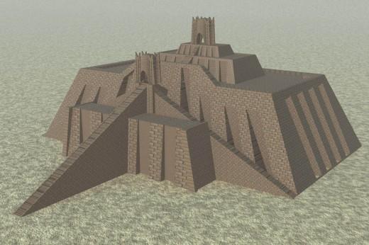 Ziggurat of Ur (city of Sumer)