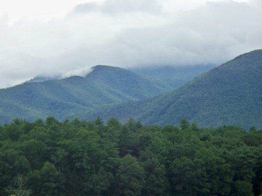 View from Cades Cove