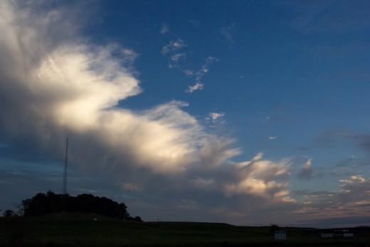Sky in PA.