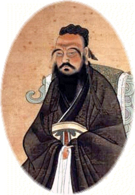 Confucius, the author of the Great Learning