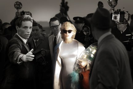 "Williams dodged the lights of fame in ""My Week With Marilyn."""