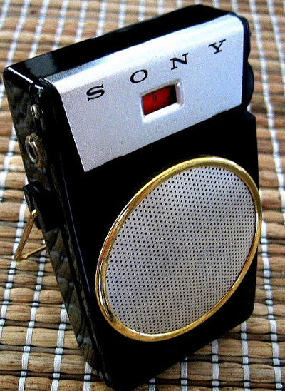 The 1958 Small Wonder-Transistor radio