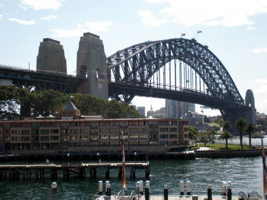Sydney Harbor Bridge. From the Australia Pictures Series by Claudia Tello.