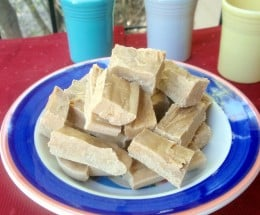 A Bowl of Freshly Made Peanut Butter Fudge