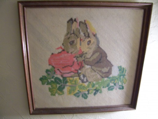 Another of my great-grandmother's needlepoints.