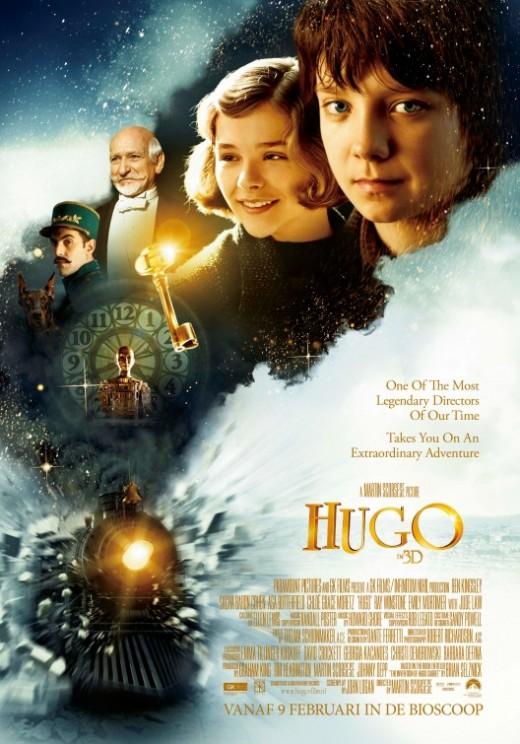 Hugo Movie Poster #1