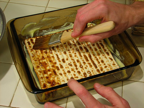 There are lots of creative ways to use matzoh