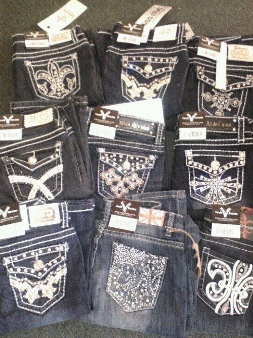 selling designer jeans at in home parties