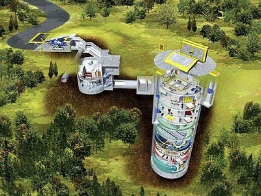 Here is what an underground doomsday bunker looks like.