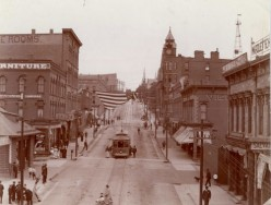 Front Street in 1909
