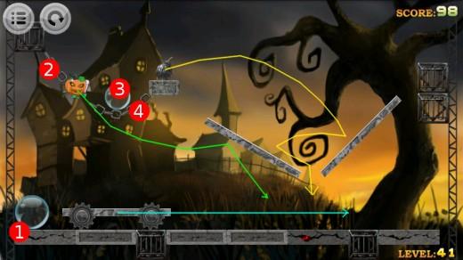 Devil hunter walkthrough for Level 41.