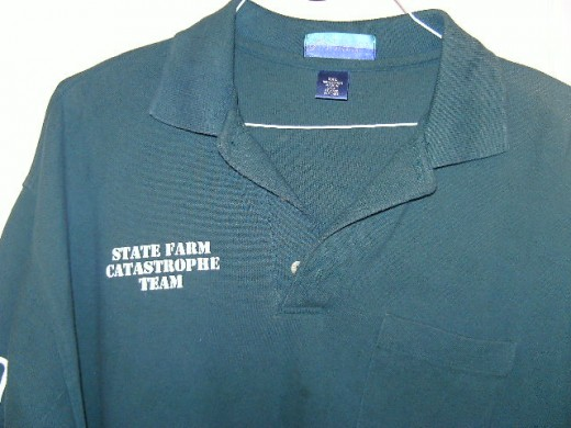 Dark Green St. Farm Catastrophe Shirt