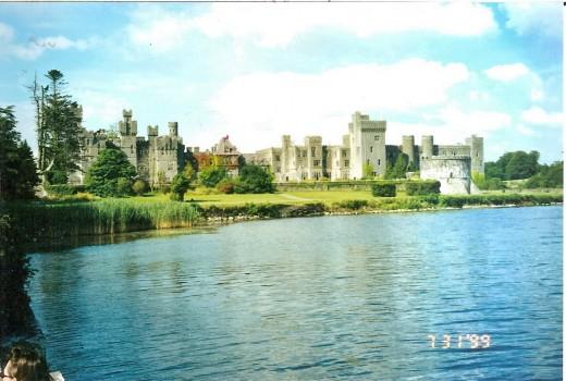 Ashford Castle, now a five star hotel