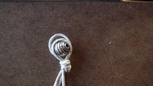 Step 5  Sizing the loop using finishing bead.