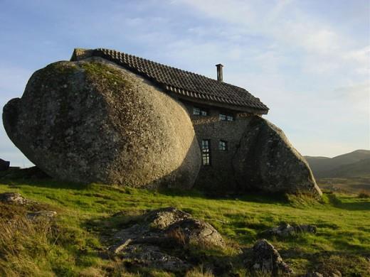 A stone house?