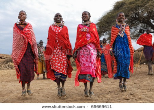 Woman from Kenya