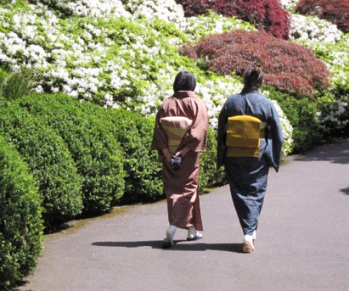 The Okinawans routinely exercise even if it's taking a daily walk.