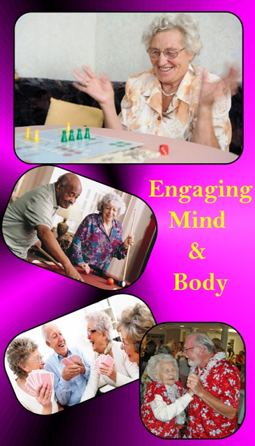 """Engaging Mind & Body"""